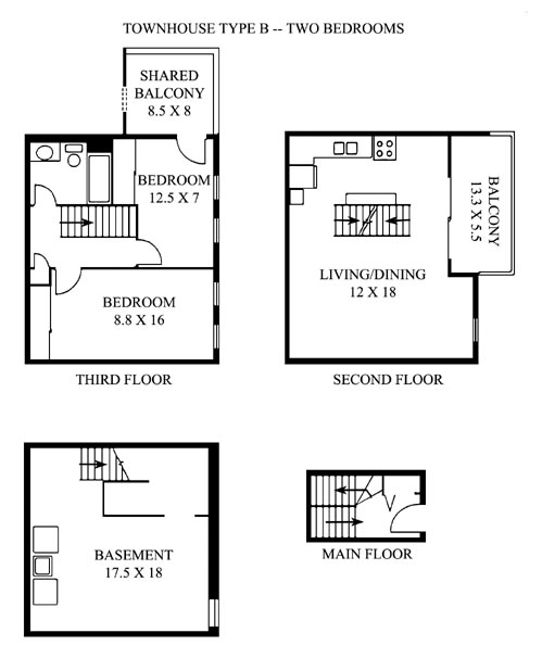 Pocono New Construction - Floor Plans